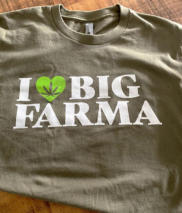 I love big farma tshirt