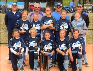 The Lowcountry Lightning 12U took home the Spring Fling Championship at Ace Basin Sports Complex. Photo submitted