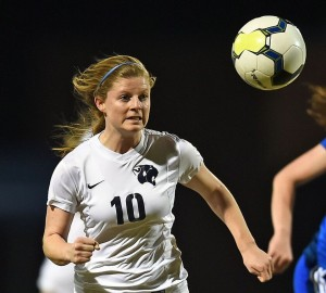 Allyn Wiggins, a senior at CCHS and member of the Lady Cougar Soccer team, was named to the 2016 Clash of the Carolinas. Photo by Jim Killian