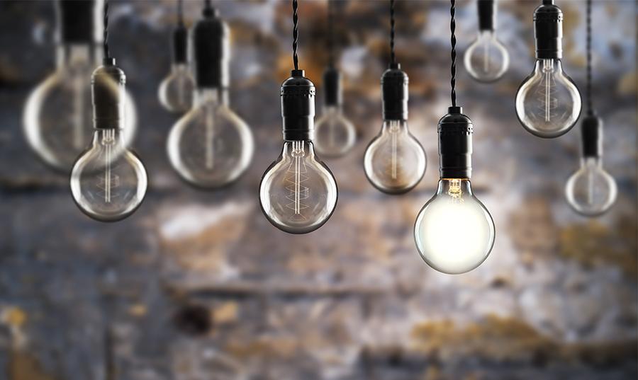 light bulb vintage small