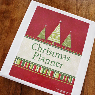 Christmas Planner – Keeping Organized over the Holidays