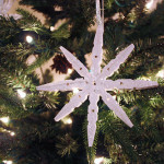 Sparkly Clothespin Snowflakes {Ornament Exchange}
