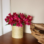 Twine Wrapped Vase {Recycled Cans}