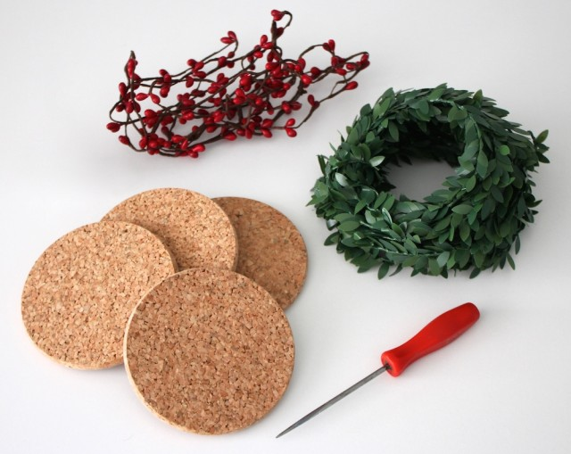 festive-holiday-coasters-materials