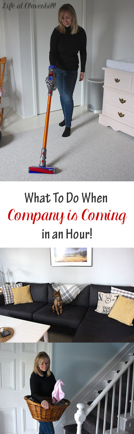 what-to-do-company-coming