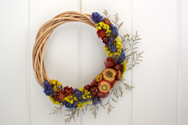 how-to-make-dried-flower-wreath