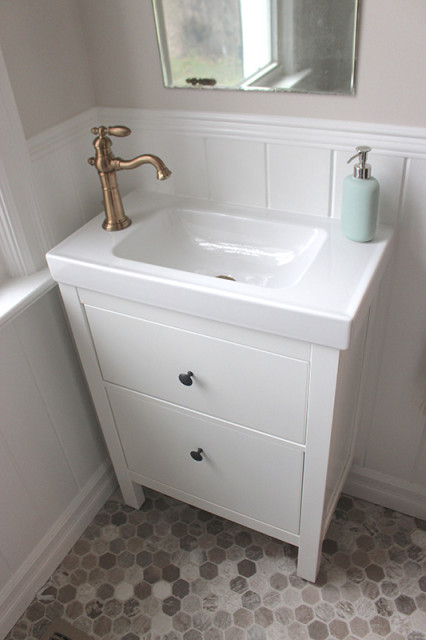 farmhouse-powder-room-ikea-hemnes