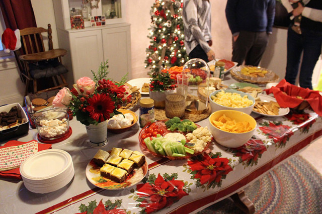 christmas-party-food