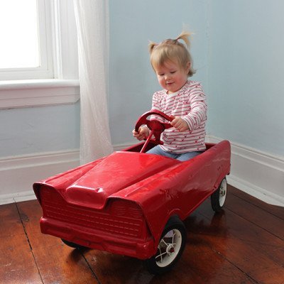 The Story Behind Our Retro Pedal Car