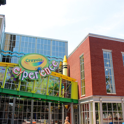 Getting Creative at the Crayola Experience {Our Pennsylvania Road Trip}