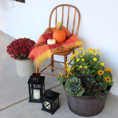 Decorating for Fall with Natural Elements
