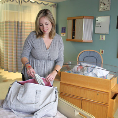 What I Packed for the Hospital with Luxury Labour Bags