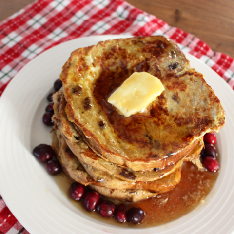 CINNAMON RAISIN FRENCH TOAST