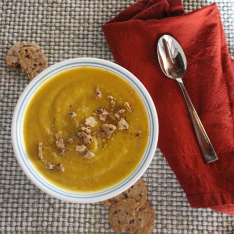 The Perfect Butternut Squash Soup