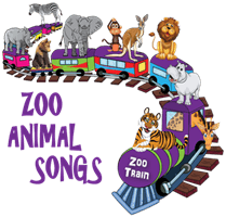 Kids songs about zoo animals.