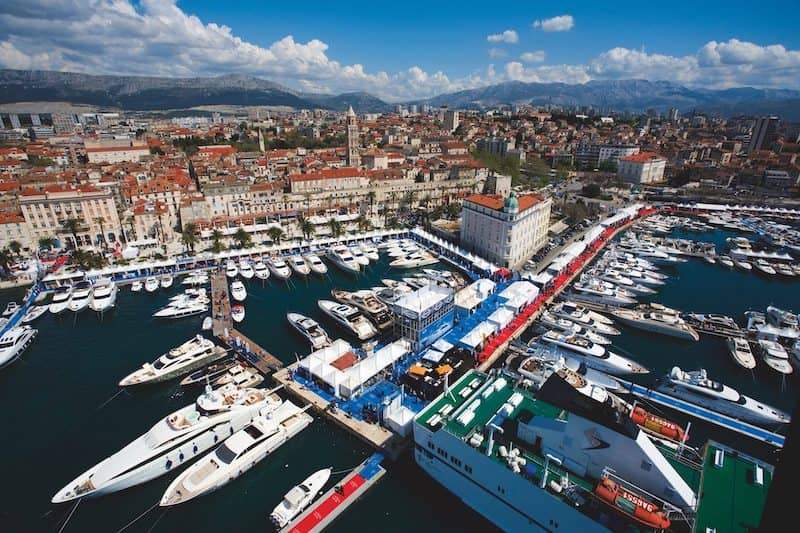 Croatia boat show in Split