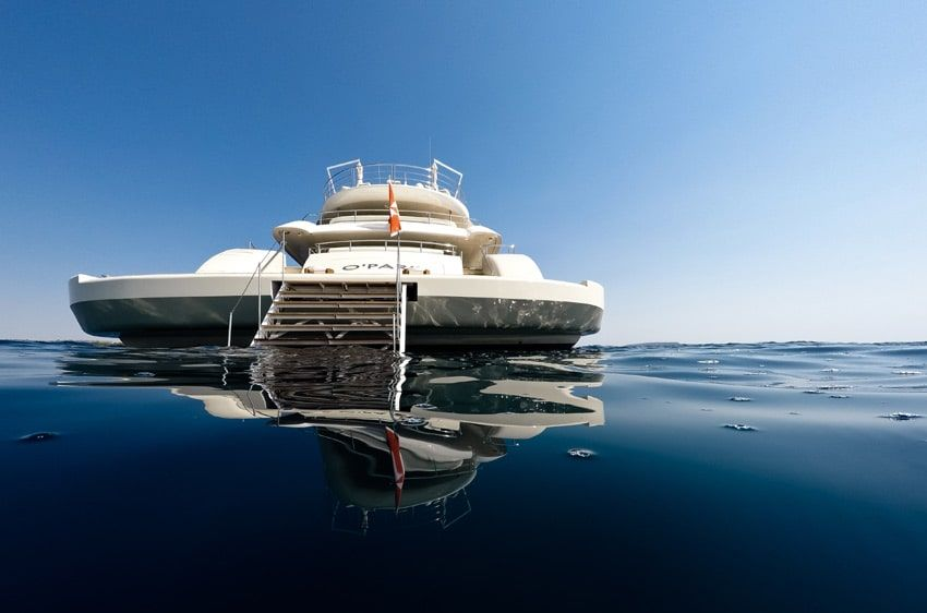 O'PARI 3 luxury mega yacht for charter Greece
