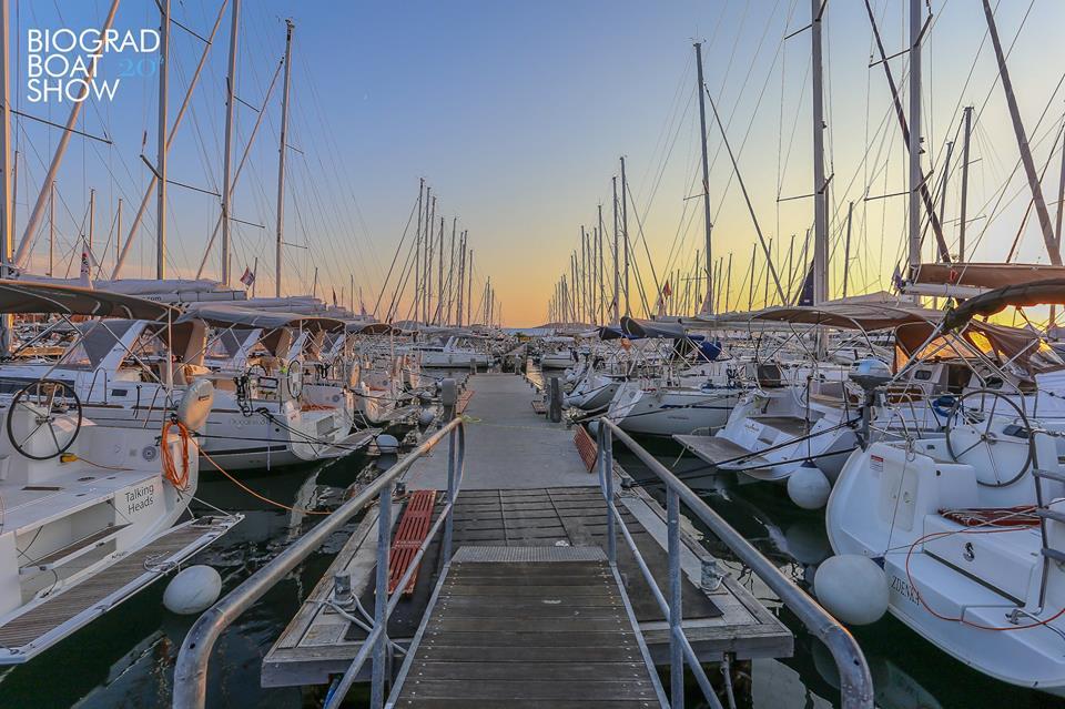 Sailing boats Biograd boat show