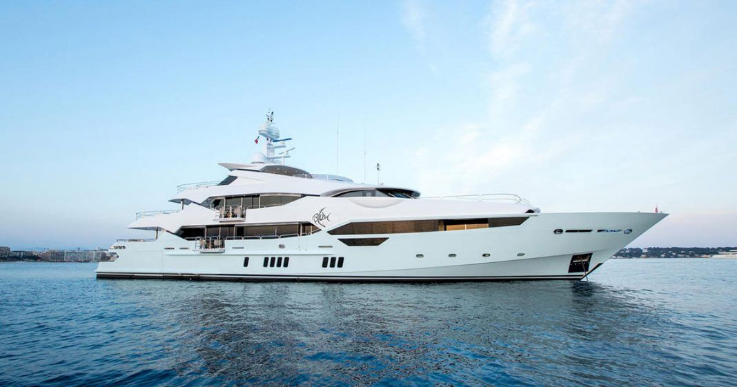 Charter luxury mega yacht Blush