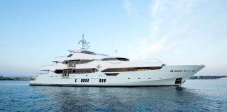 Charter luxury mega yacht Blush