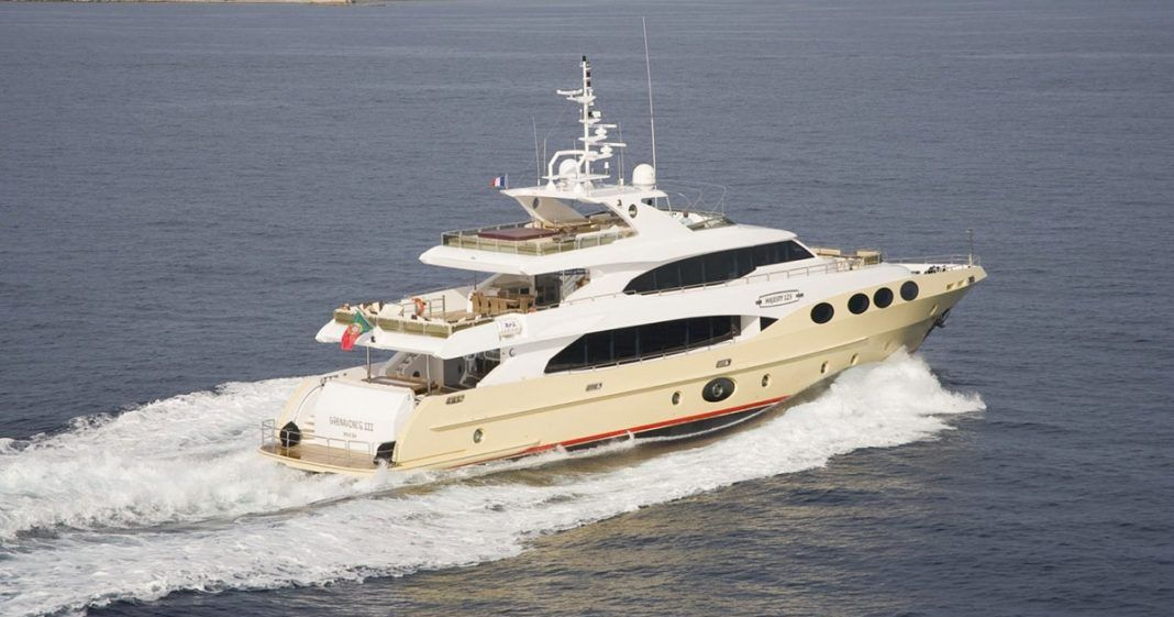 Charter luxury mega yacht Grenadines III