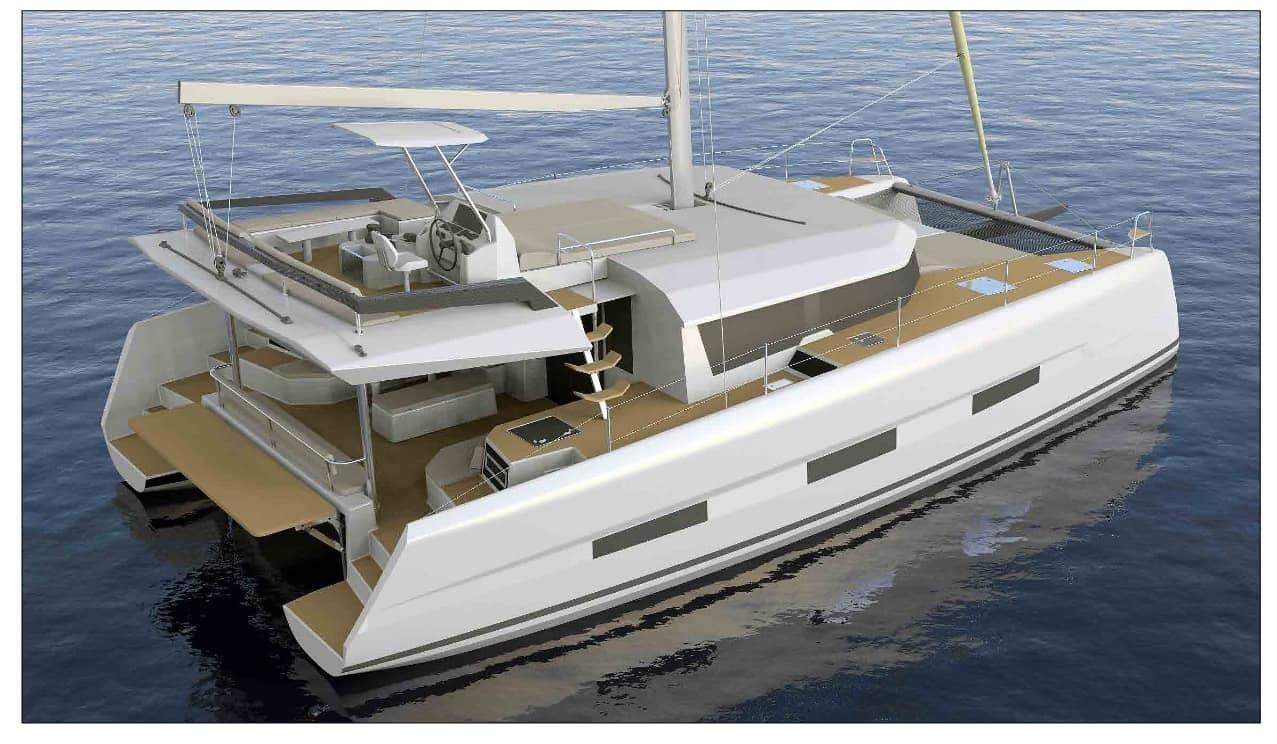 Dufour 48 catamaran for charter in Greece Croatia