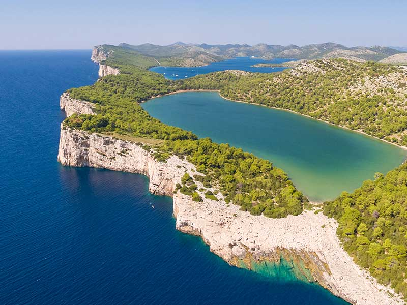 National parks to visit with boat - Kornati