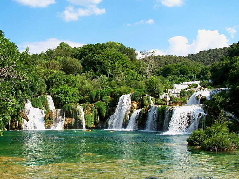 National parks to visit with boat - Krka