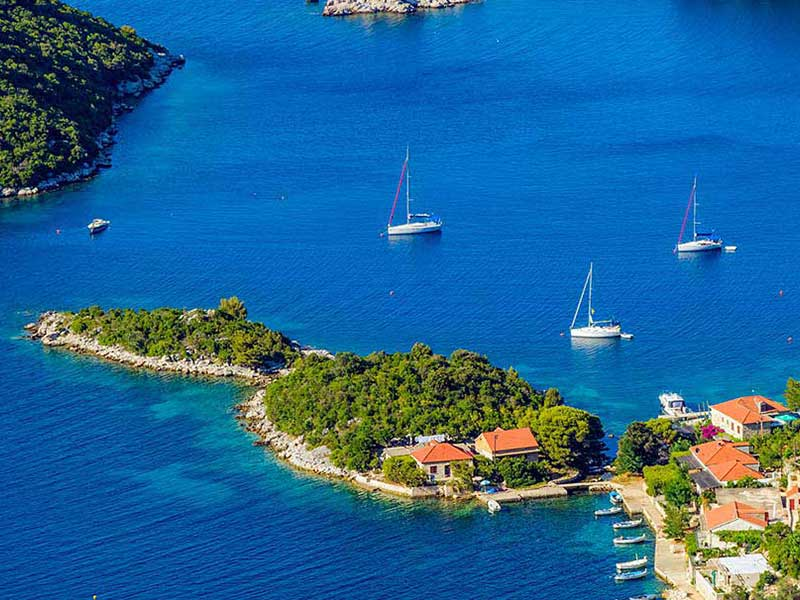 National parks to visit with boat - Mljet