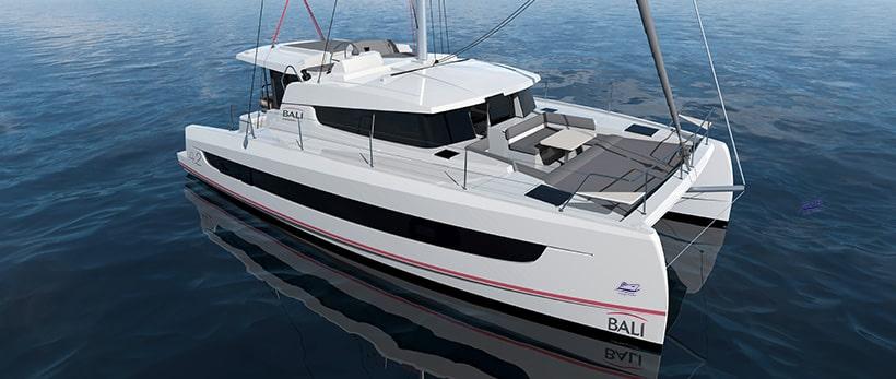 Bali 4.2 Catamaran Charter Main
