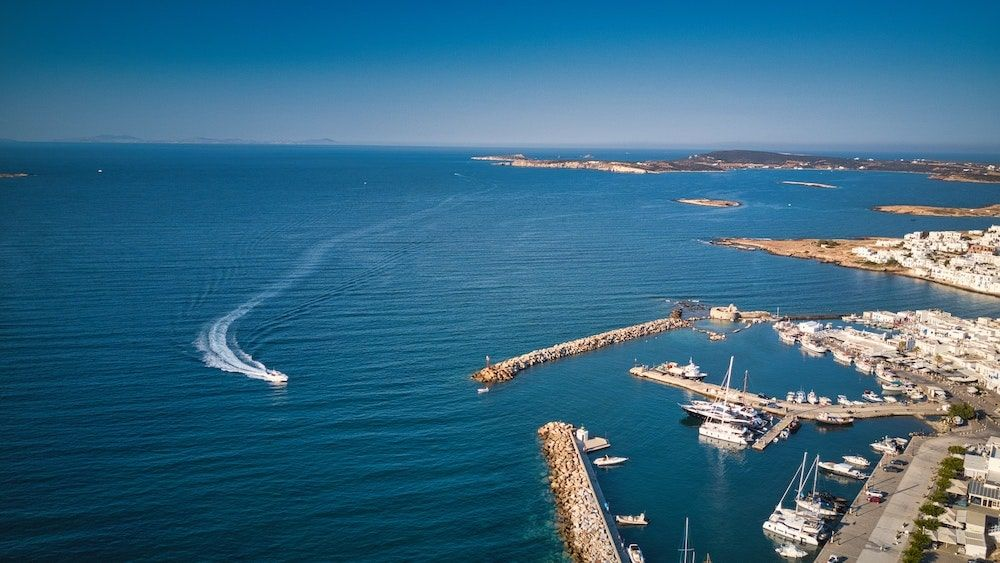 Naousa Sailing Greece Min