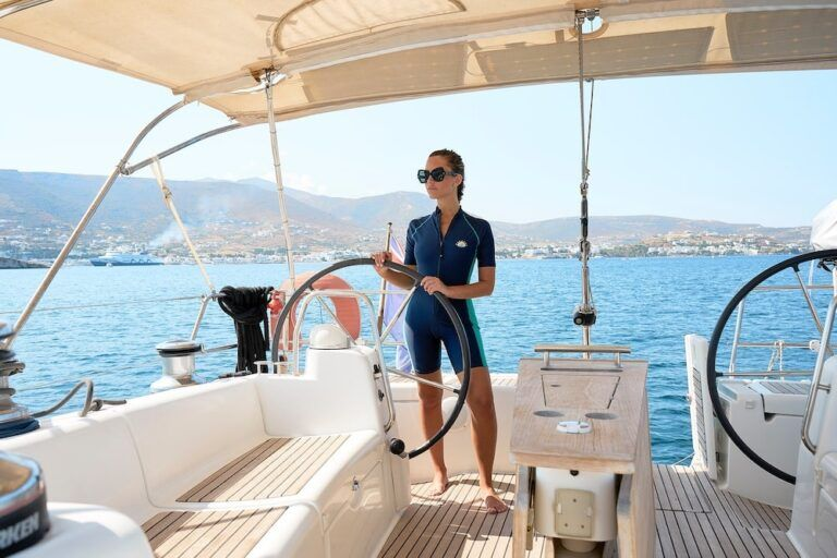 Sailing the Greek islands: Santorini, Mykonos, Paros, Antiparos, Ios  – Cyclades group