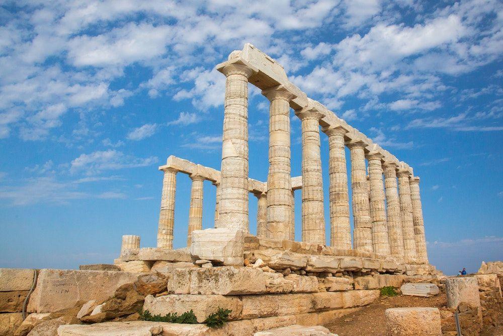Suonion Greece Temple Min