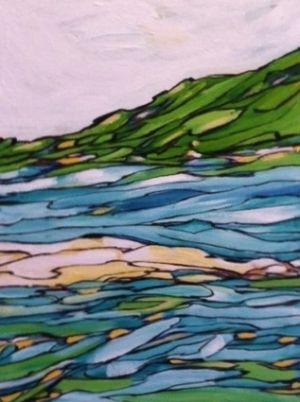 Sea Study, Apprx. 16x20