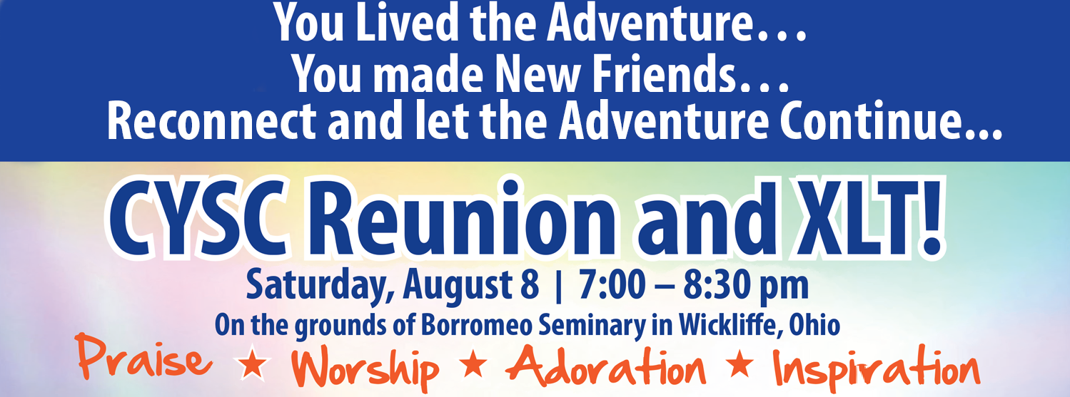 Come to the CYSC Reunion on Saturday, August 8th!