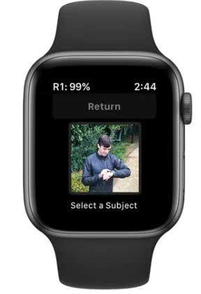 Apple Watch drone transmitter
