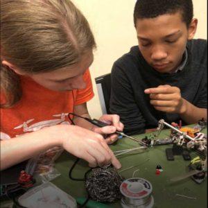 Kids Build Drones