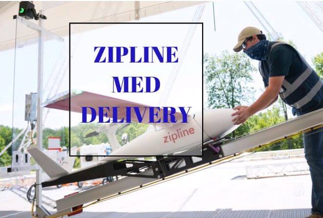 ZipLine COVID USA Medical Delivery Long Distance