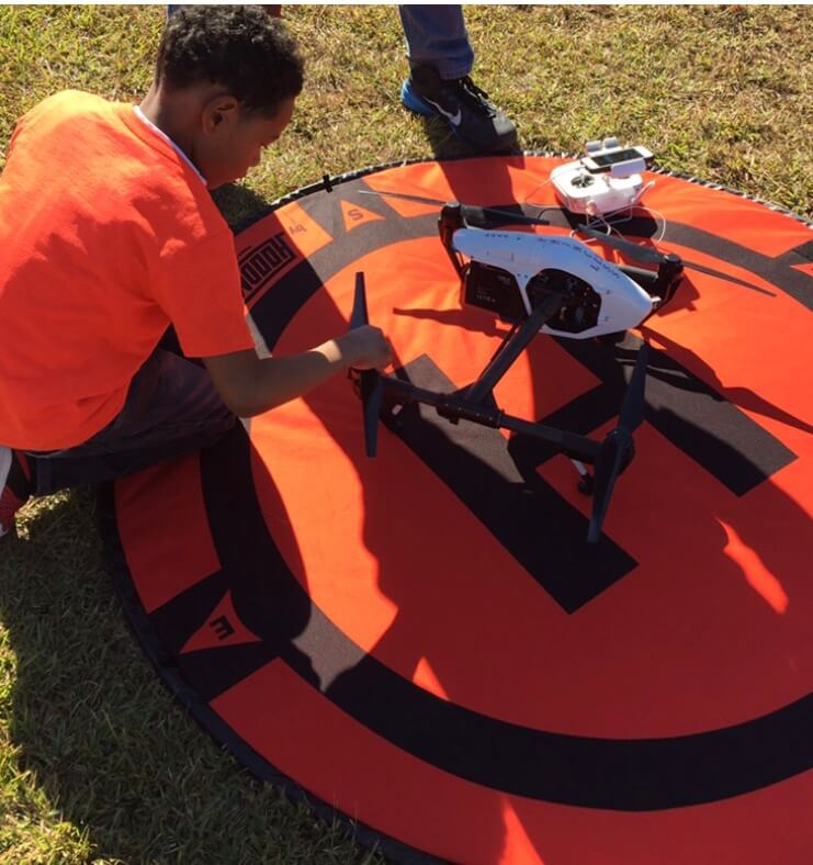 Kids and Drones