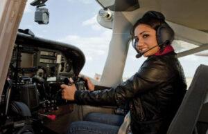 Girl in-plane