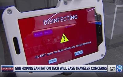 U.S. Airport Test UV Autonomous Robot