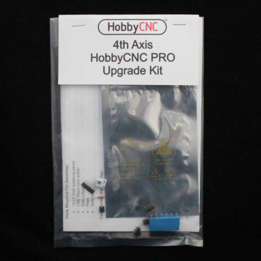 HobbyCNC PRO 4th Axis Upgrade Kit. DIY CNC Router, DIY CNC Mill, DIY CNC, DIY Robotics, Arduino
