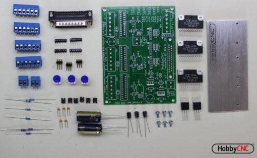 HobbyCNC EZ stepper motor controller electronics parts details