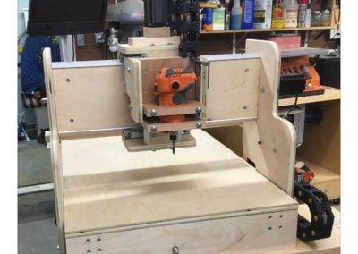 HobbyCNC Customer Build - completed, front view