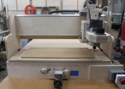 HobbyCNC Customer Build - CNC Machine - front view