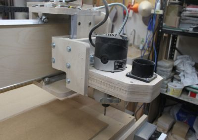HobbyCNC Customer Build - Router head mounting