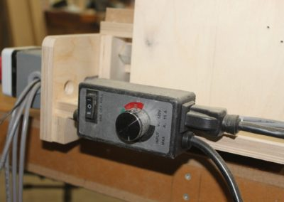 HobbyCNC Customer Build - router speed control mounting