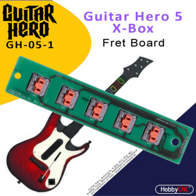 Guitar Hero 5 Xbox Mechanical Switch Fret Upgrade Kit with Switches