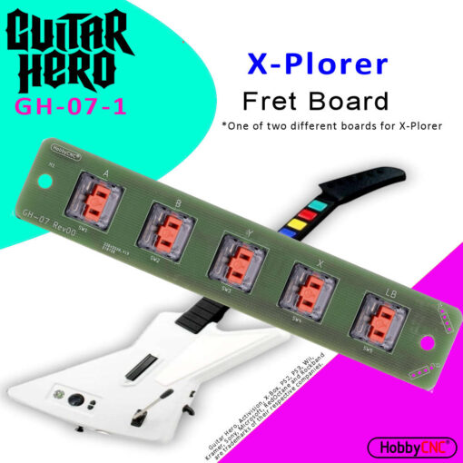 Guitar Hero Explorer 360 Mechanical Switch Fret Upgrade Kit with Switches