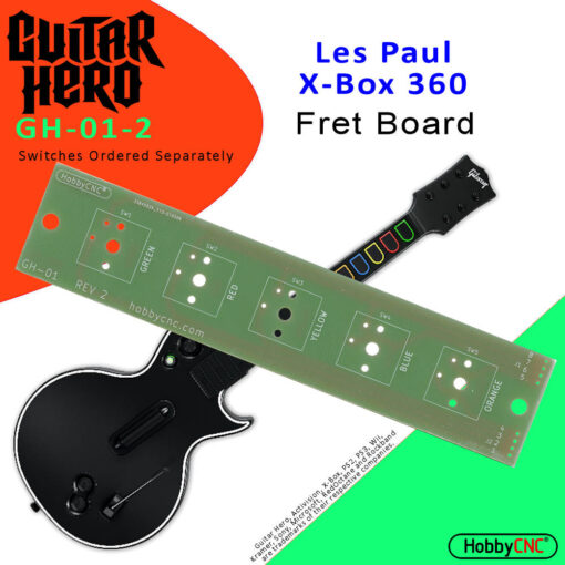 Guitar Hero Les Paul Mechanical Switch Fret Upgrade Kit with Switches